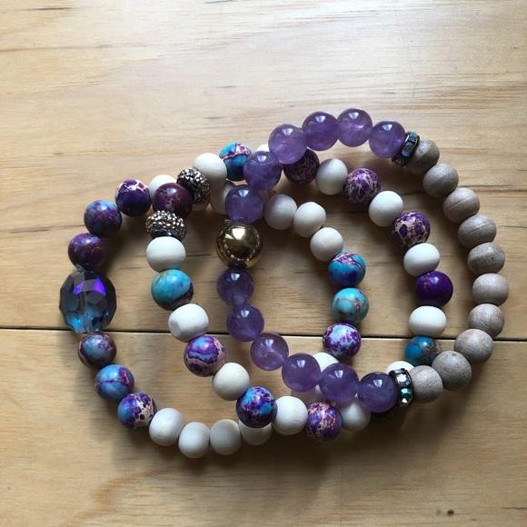 Accessories - Essential Oil Diffuser Bracelets-Trio Set